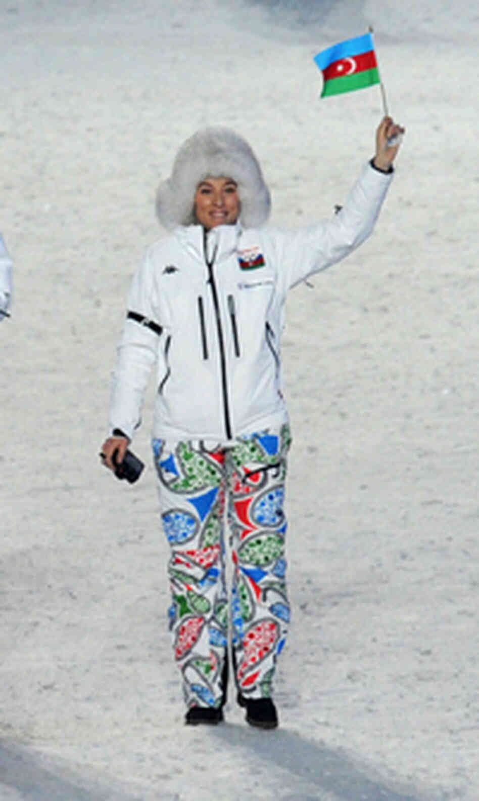 A member of the Azerbaijan Olympic delegation.