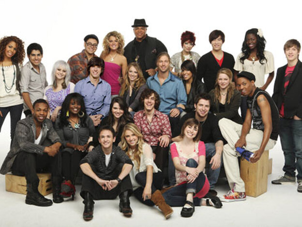 American Idol's Top 24 contestants.