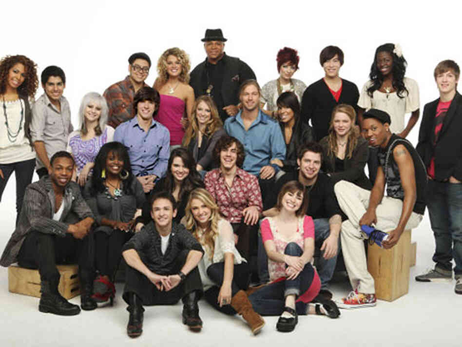 American Idol's Top 24 contestants.