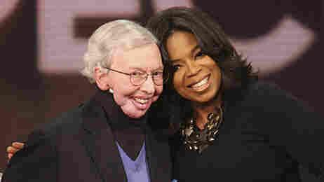 Roger Ebert and Oprah Winfrey.
