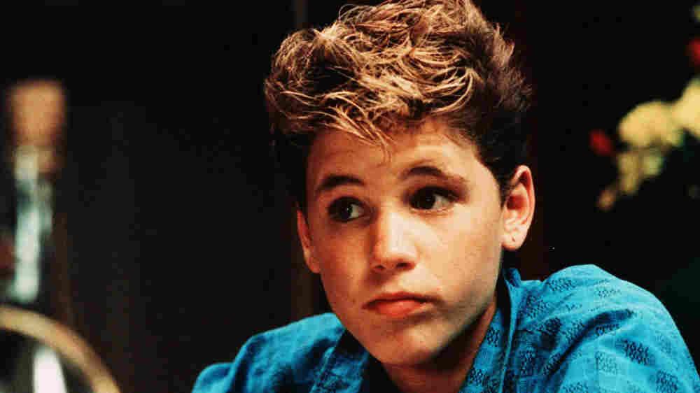 Corey Haim, seen as a teenager.