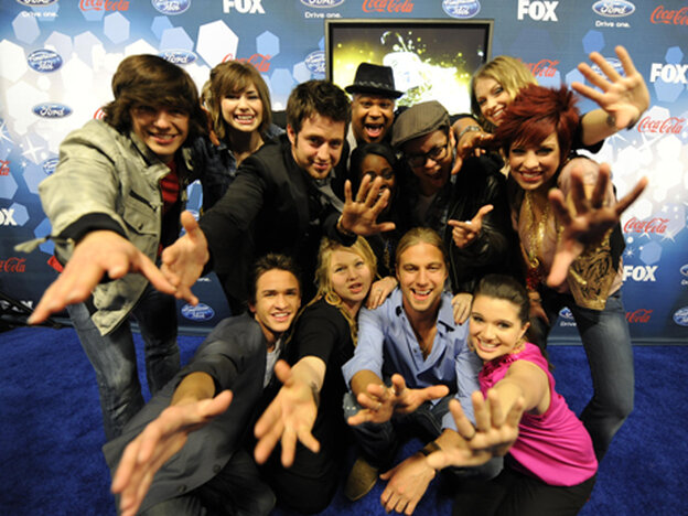 The twelve finalists on this season of American Idol