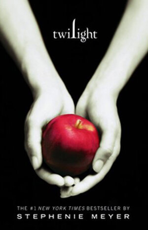 The cover of Stephenie Meyer's Twilight.