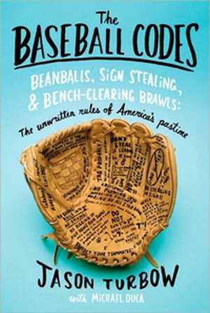 The cover of 'The Baseball Codes'.
