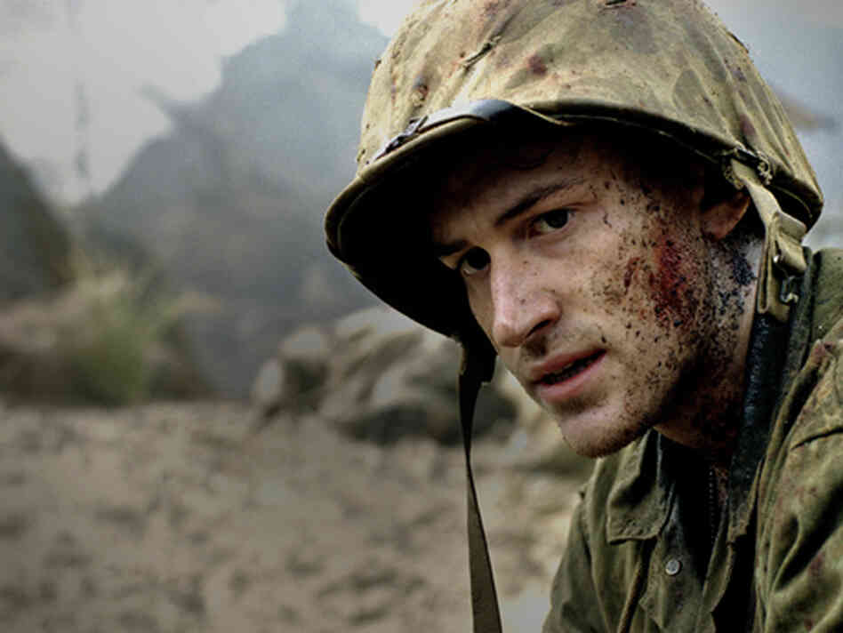 Joe Mazzello as Eugene Sledge in HBO's The Pacific.