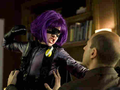 Chloe Grace Moretz stars as 'Hit Girl' in Kick-Ass.