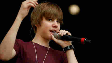 Justin Bieber performs at the White House Easter egg roll on April 5, 2010.