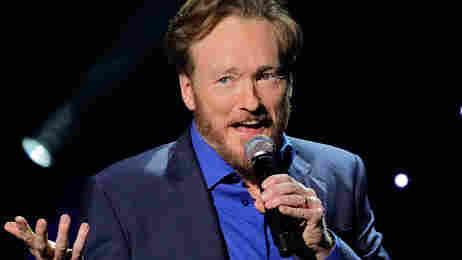 Conan O'Brien performs on April 24, 2010 in Universal City, California.