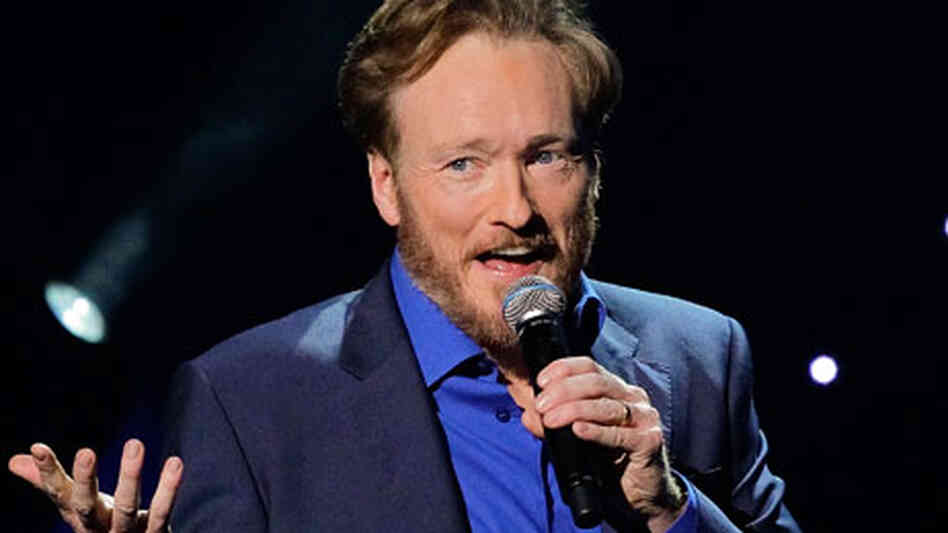 Conan O'Brien performs on April 24, 2010 in Universal City, California.