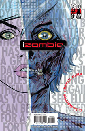 The cover of the first issue of I, Zombie.