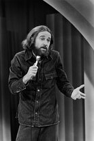 George Carlin performing in 1981.
