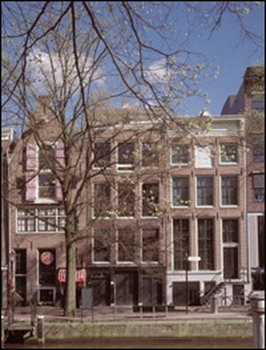 The Anne Frank house.