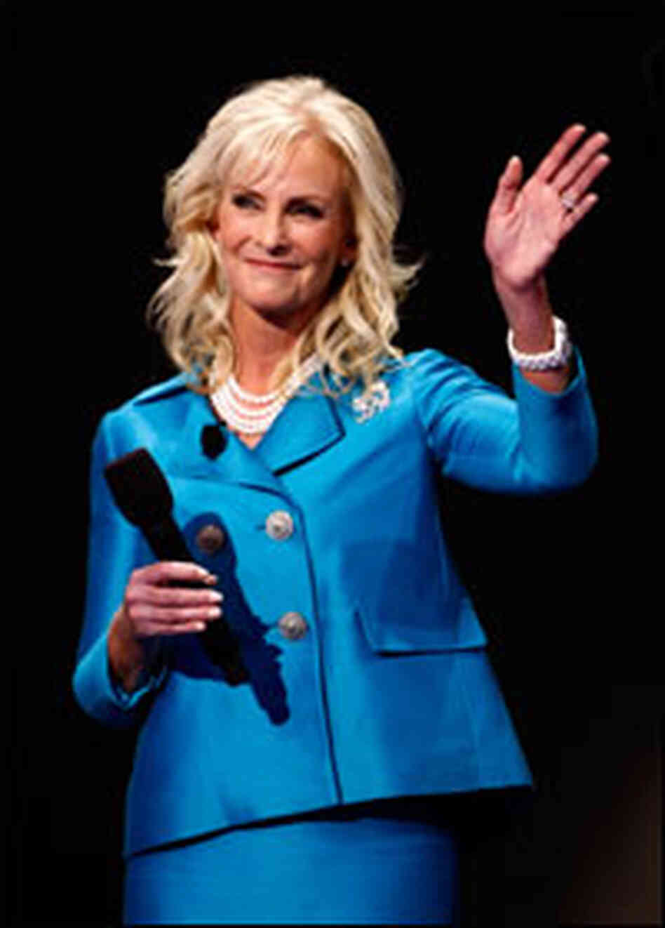 Cindy McCain, on the fourth night of the Republican National Convention.