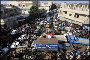 The Gaza breach.