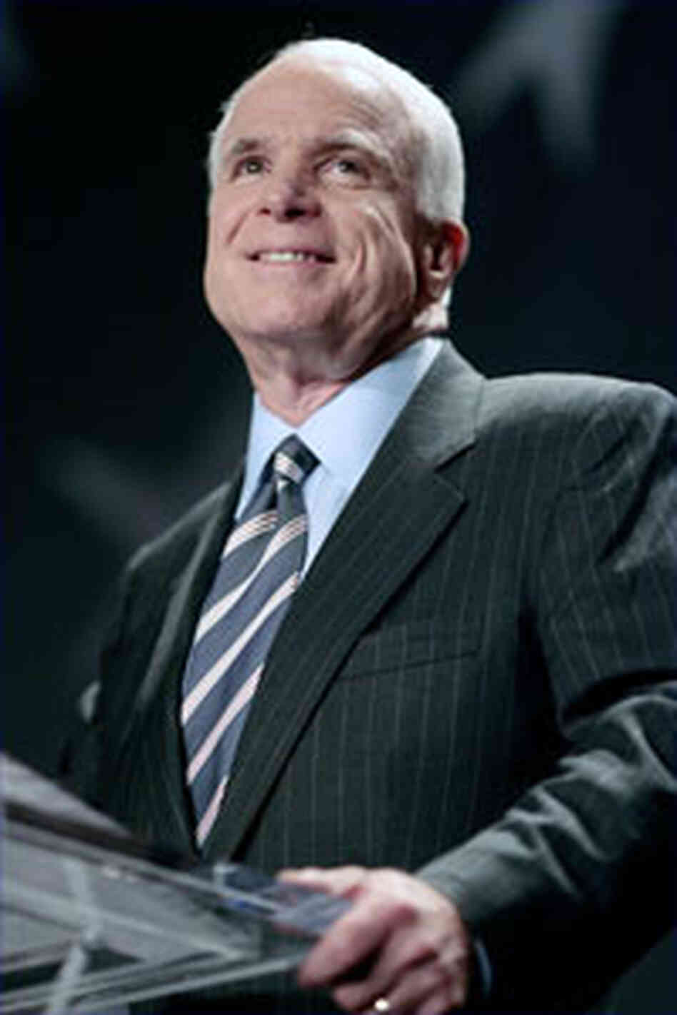 Presidential hopeful John McCain.