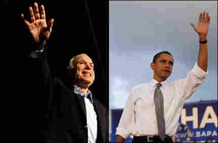 Senators McCain and Obama, on the trail this week (separately, of course).