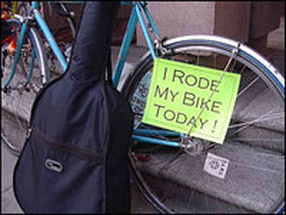 What about you? Did you bike to work?