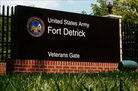 Fort Detrick, MD, where Bruce E. Ivins worked.