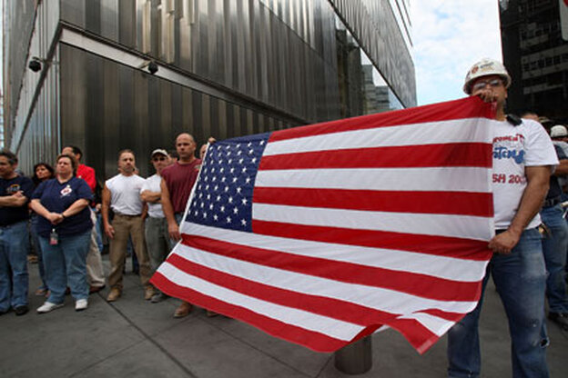 New Yorkers remember the victims of 9/11.
