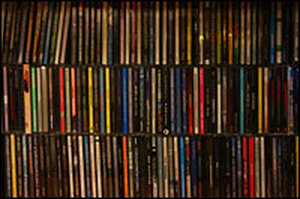 These aren't my CDs, but they could be. The Beck, anyway.