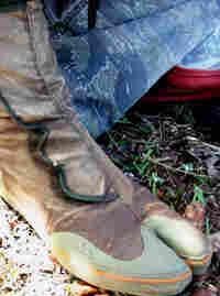Ken Wood's daring feet