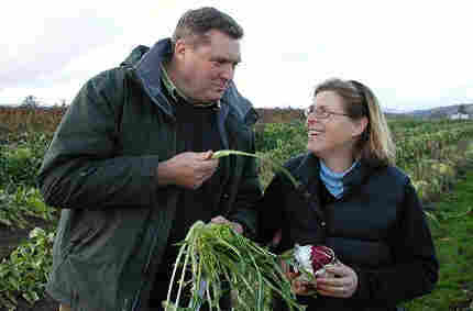 Organic farmers Anthony and Carol Boutard