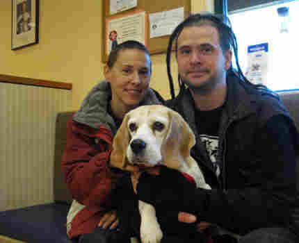 Dog Rescuers Joyce and Mike