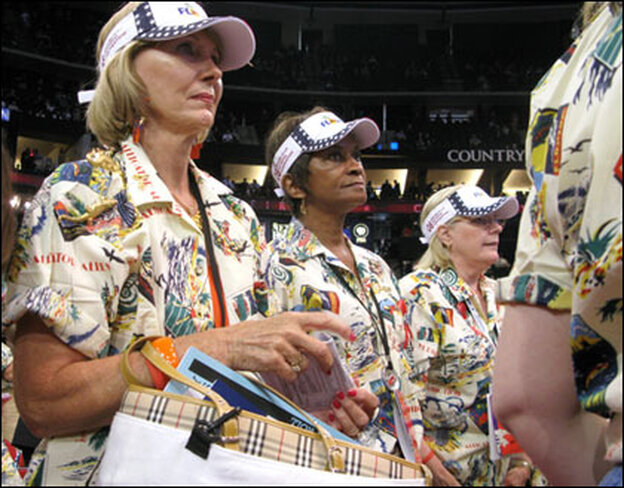 Members of Florida's Republican delegation participate in RNC morning sessions at the Xcel Energy