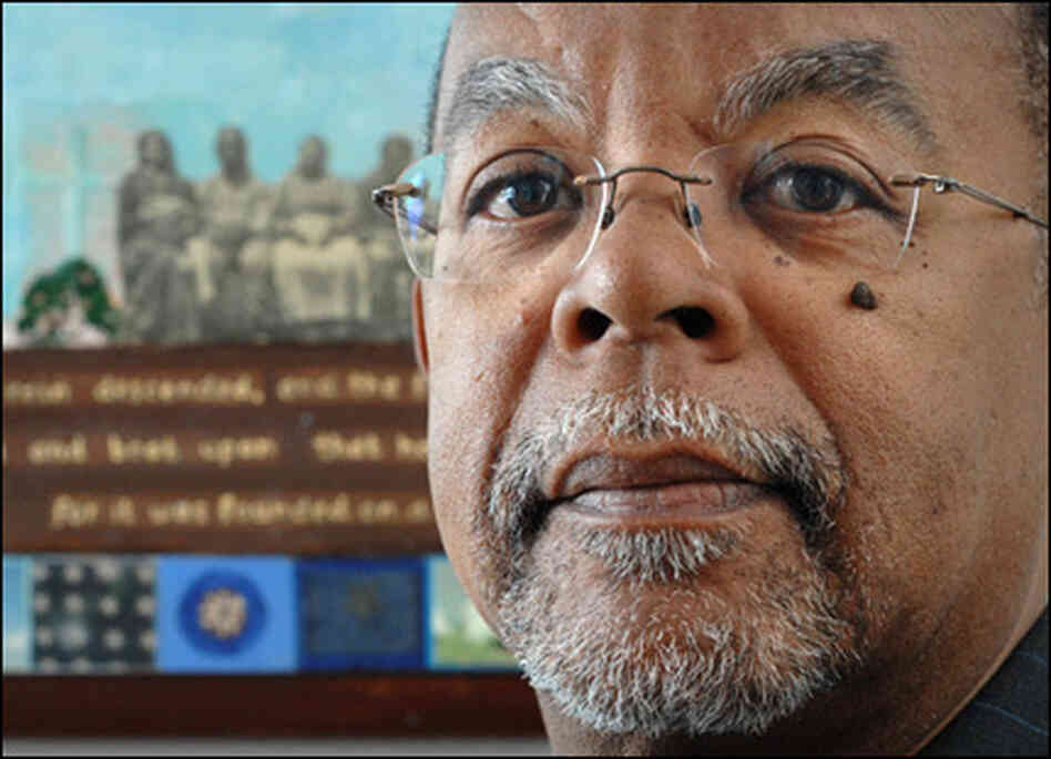Historian Henry Louis Gates Jr., poses for a photograph at his home in Cambridge, Mass., in Januar