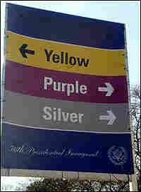 Inaugural signage