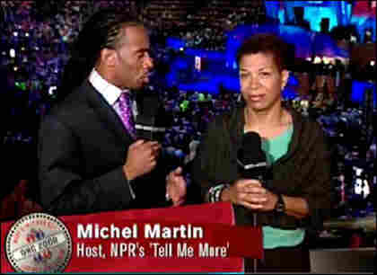 TMM host Michel Martin offers on-air analysis from the Democratic National Convention (DNC) floor