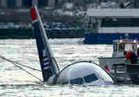 Plane lands in New York river