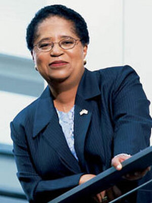 Shirley Ann Jackson, Ph.D., is the first woman and first A