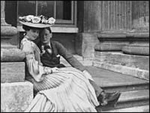 Consuelo and Winston Churchill