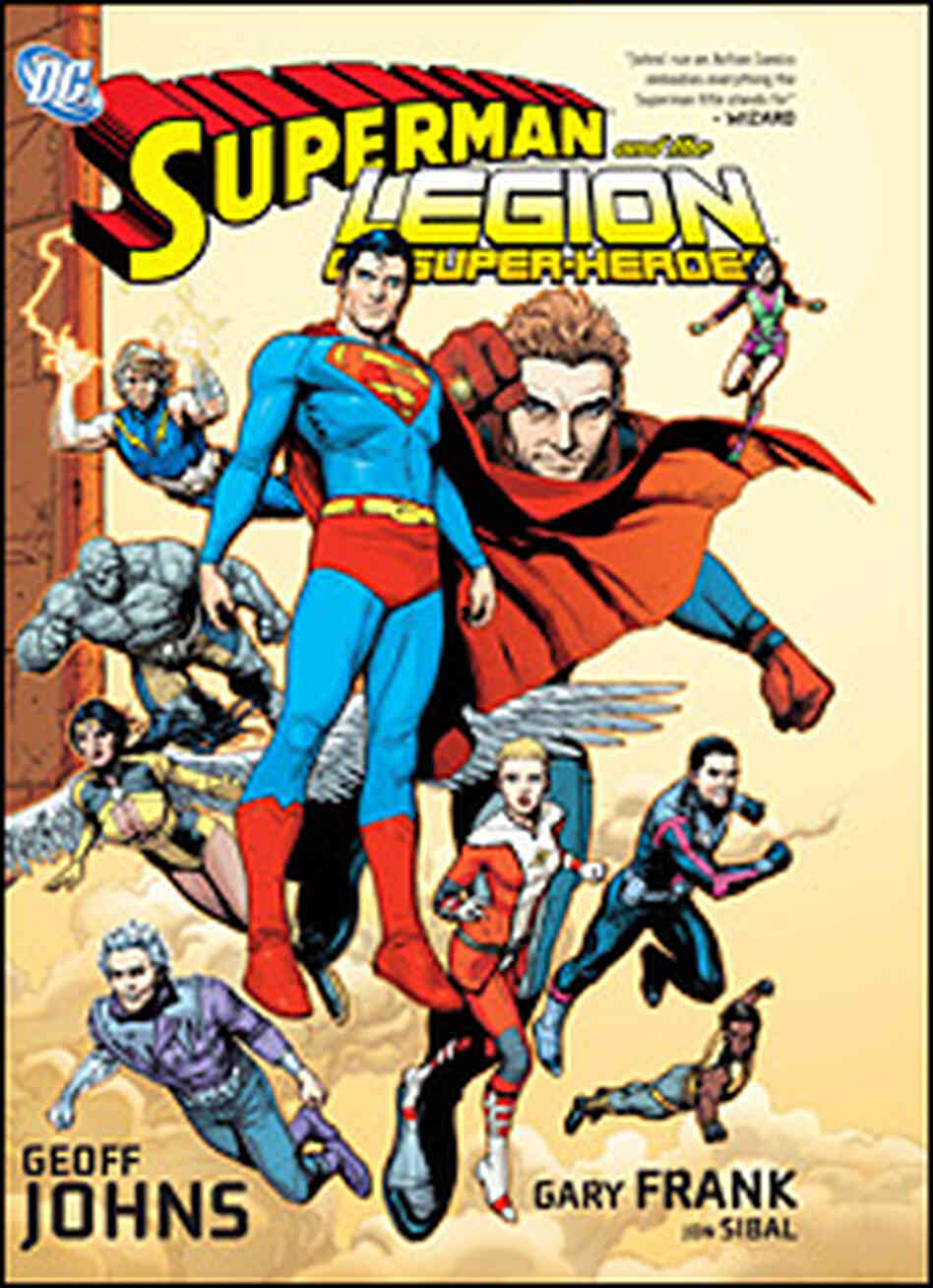 'Superman and the Legion of Super-Heroes,' by Geoff Johns and Gary Frank