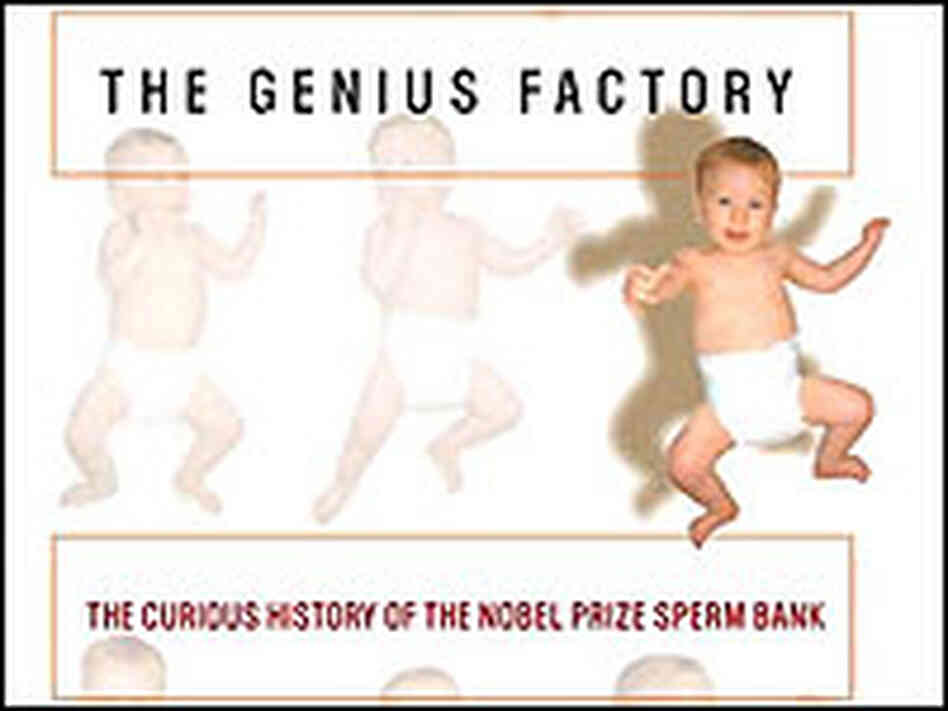 Detail from the cover of 'The Genius Factory'