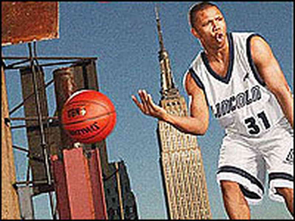 Sebastian Telfair from the cover of 'The Jump'