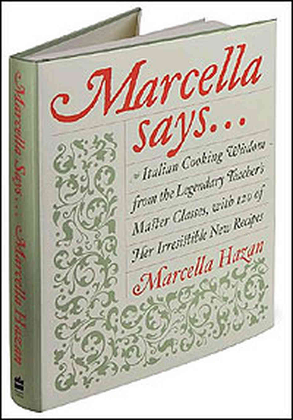 Cover of Marcella Says