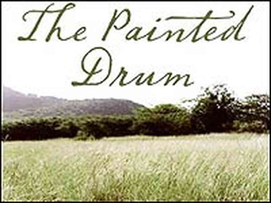 Cover of 'The Painted Drum'