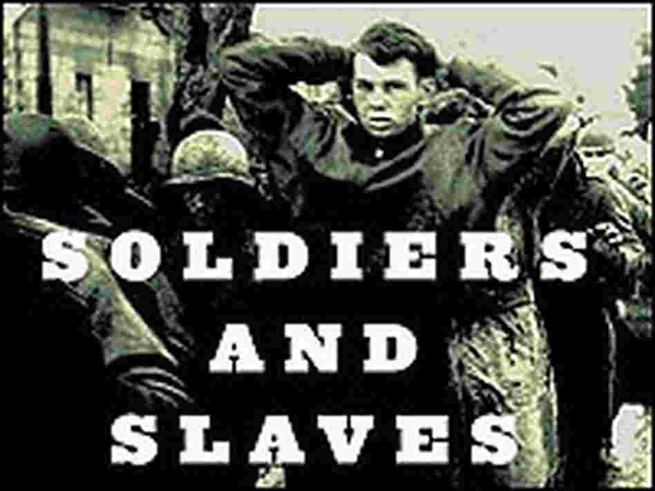 Image of captive American soldier from cover of Cohen's book