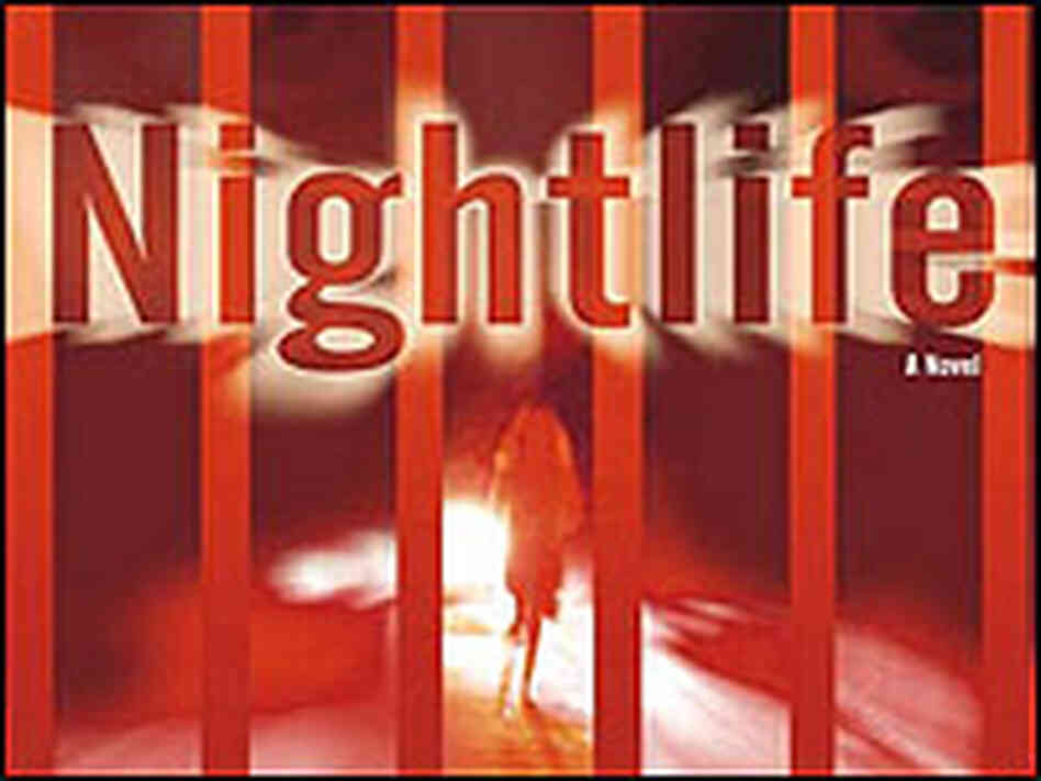 Detail from the cover of 'Nightlife' shows a silhouette of a woman.