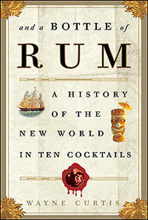 A cover detail from 'And a Bottle of Rum'