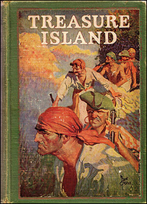Cover of 'Treasure Island'