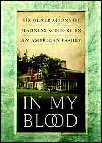 Cover of 'In My Blood' shows a New England home.