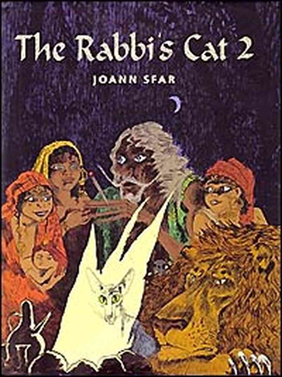 Rabbi's Cat Cover