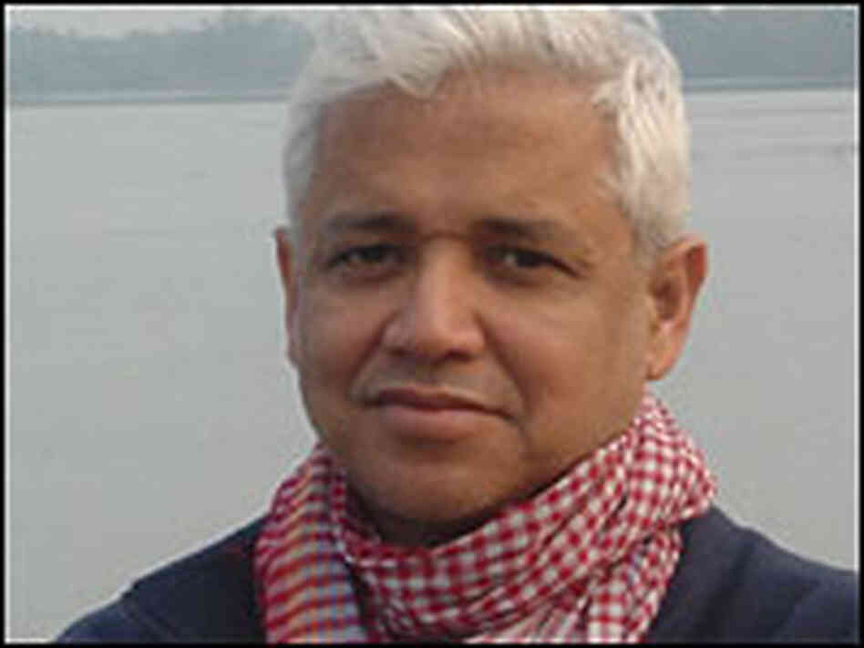 Author Amitav Ghosh