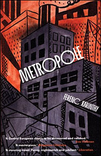 Cover of Ferenc Karinthy's 'Metropole'