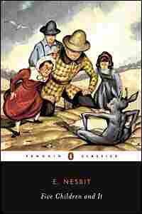 Cover image from 'Five Children and It'