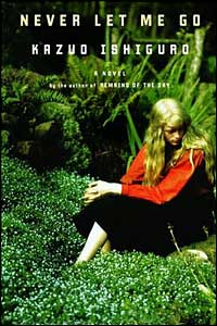 Cover image from Never Let Me Go