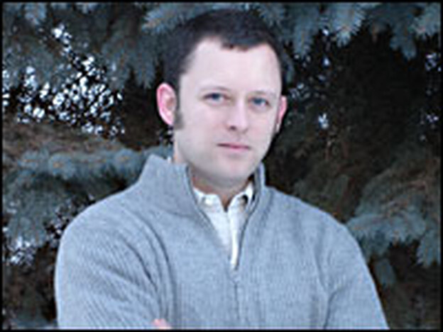 Benjamin Percy is the author of two books of stories, <em>Refresh, Refresh</em> and <em>The Language of Elk.</em> When he isn't running through the woods in his loincloth, or loosing an arrow from his bow, he's playing trucks and trains with his 18-month-old son, Connor.